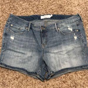 Size 18 shorts.